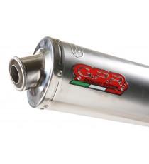 GPR SCARICO DI SCARICO OMOLOGATO CON RACCORDO KTM.20.TO KTM SXF 250 - EXC 250 F 2003/06 TITANIUM OVALE / OVAL