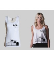 The Puppies House 8053045306110 Canotta donna The Puppies House in cotone serie TAGLIA M TOP