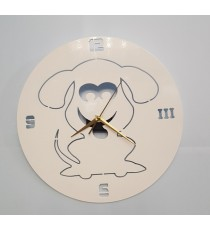 The Puppies House 63639002 OROLOGIO CANE PARETE serie BauClock