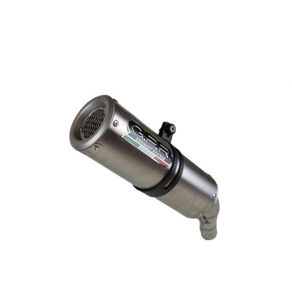 SCARICO GPR EXHAUST SYSTEM COMPATIBILE CON MOTO MORINI CORSARO 1200 2005/11 TERMINALI SCARICO OMOLOGATI M3 TITANIUM NATURAL