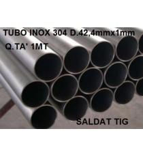 TUBO ACCIAO INOX 304